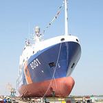 Tin tức trong ngày - Hạ thủy tàu cảnh sát biển lớn nhất Việt Nam