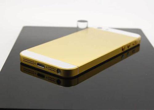 iPhone 5 mạ vàng hút hàng tại Việt Nam - 3