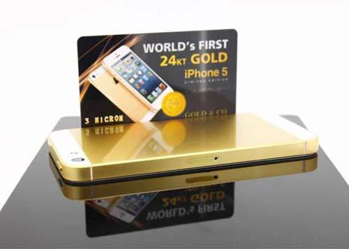 iPhone 5 mạ vàng hút hàng tại Việt Nam - 1