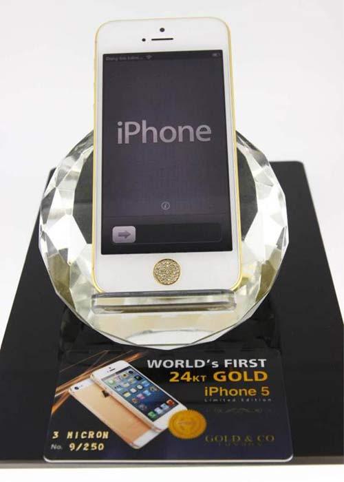 iPhone 5 mạ vàng hút hàng tại Việt Nam - 2