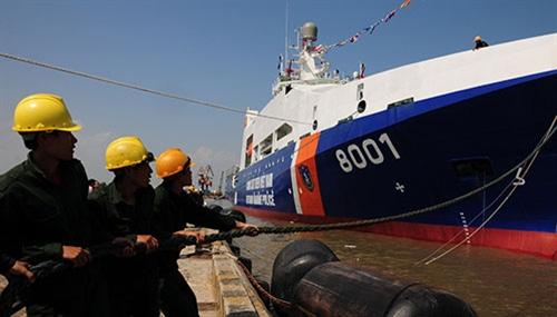 Khám phá tàu Cảnh sát biển hiện đại nhất VN - 2