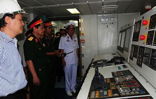 Khám phá tàu Cảnh sát biển hiện đại nhất VN - 5
