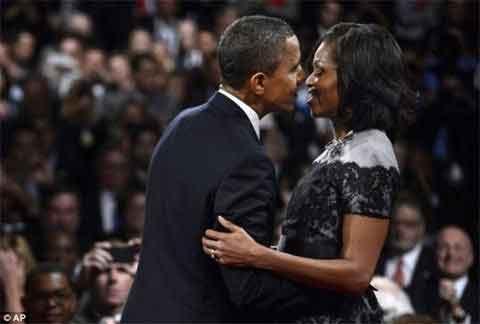 Bí mật chấn động của vợ chồng Obama - 1