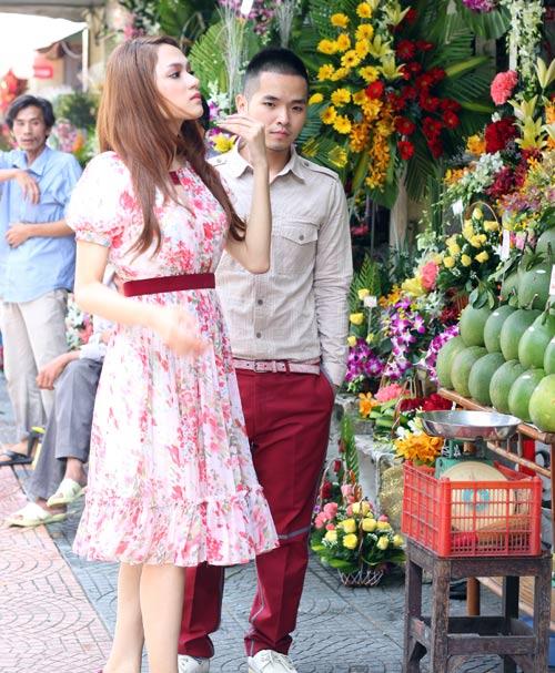 Hương Giang Idol mặt mộc vẫn xinh tươi - 14