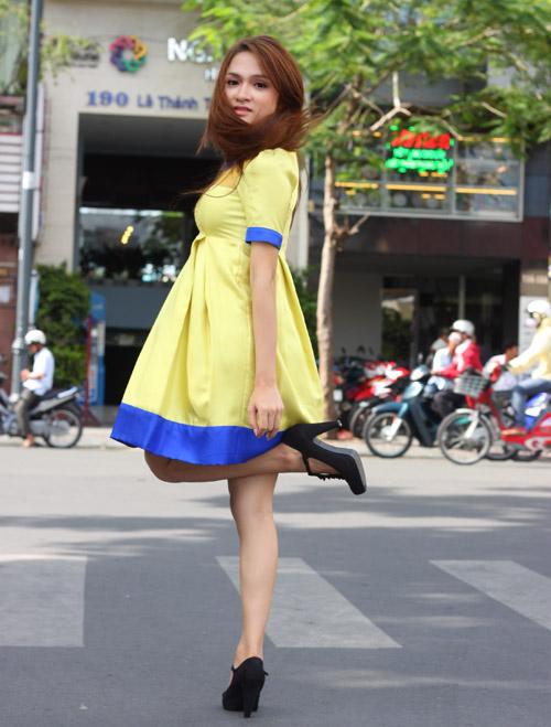 Hương Giang Idol mặt mộc vẫn xinh tươi - 9