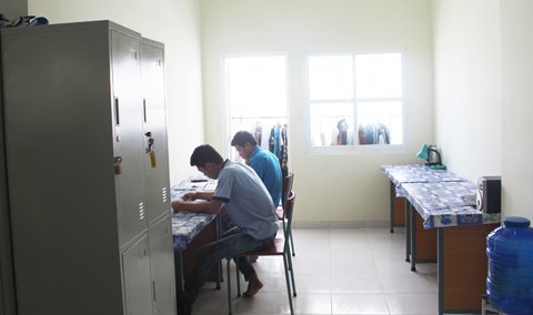 Cận cảnh ký túc xá lớn nhất Việt Nam - 10