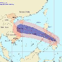 Biển Đông sắp đón bão số 8