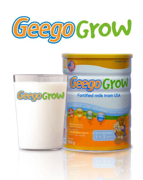 Geego Grow – Bí quyết cân bằng dinh dưỡng cho con - 1