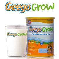 Geego Grow – Bí quyết cân bằng dinh dưỡng cho con