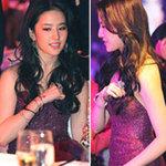 Thời trang - Lưu Diệc Phi loay hoay giữ gìn vòng 1