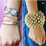 Thời trang - Đeo vòng tay thế nào mới thật sành điệu?
