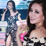Ca nhạc - MTV - Vy Oanh khoe chân dài nõn nà