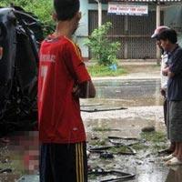 Thanh Hóa: TNGT nghiêm trọng trong mưa bão