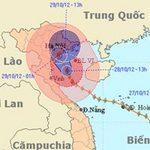 Tin tức trong ngày - Bão Sơn Tinh: Hà Tĩnh đã có mưa rất to