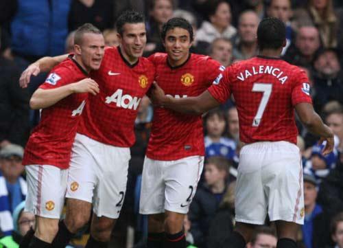 Chelsea - MU: 5 bàn thắng & 2 thẻ đỏ - 1