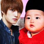 """Lộ ảnh thơ ấu  """" độc """"  của Kim Jae Joong"""