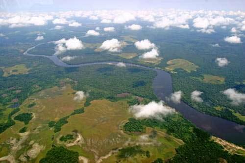 Ngắm 10 dòng sông dài nhất thế giới - 10