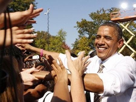 Tổng thống Obama được yêu thích hơn Romney, Tin tức trong ngày, hau truong bau cu my, bau cu som, bau cu tong thong my, bau cu tong thong, tranh cu tong thong, ung vien tong thong my, tong thong my, obama, romney, bau cu, bau cu 2012, bao, tin hay, tin hot, tin tuc, vn