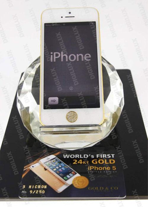 """""""Choáng"""" với khung iPhone 5 kim cương 30 triệu - 5"""