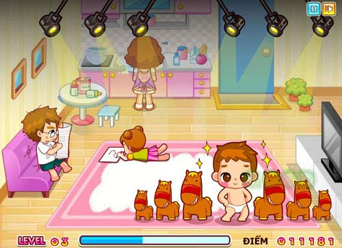 Game hay: nhảy Gangnam style - 1