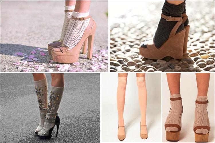 Đi giầy với tất theo xu hướng thời trang - 8