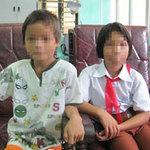 Tin tức trong ngày - Hai em nhỏ bỏ nhà ra đi vì cha bạo hành