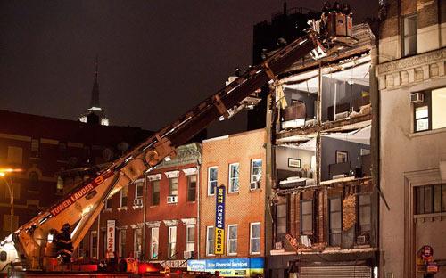 Mỹ: Cảnh hoang tàn sau siêu bão Sandy - 11