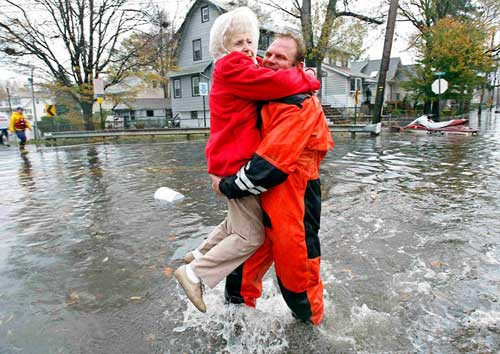 Mỹ: Cảnh hoang tàn sau siêu bão Sandy - 12