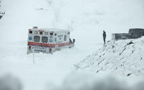 Mỹ: Cảnh hoang tàn sau siêu bão Sandy - 13