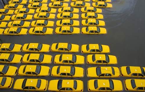 Mỹ: Cảnh hoang tàn sau siêu bão Sandy - 6