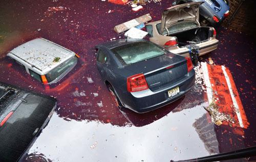 Mỹ: Cảnh hoang tàn sau siêu bão Sandy - 9
