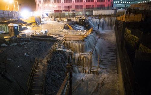 Mỹ: Cảnh hoang tàn sau siêu bão Sandy - 10