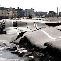 Mỹ: Cảnh hoang tàn sau siêu bão Sandy
