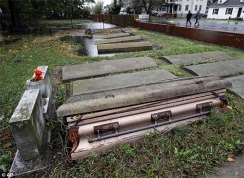 Mỹ: Cảnh hoang tàn sau siêu bão Sandy - 1