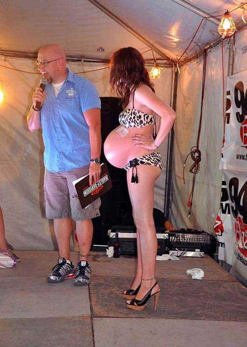 Thú vị cuộc thi bikini cho bà bầu - 6