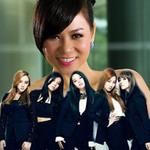 """Ngôi sao điện ảnh - Thu Minh """"so giọng"""" cùng Wonder Girls"""