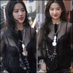 Thời trang - Lưu Diệc Phi quyến rũ qua lớp áo mỏng