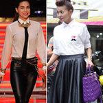Thời trang - Mặc đồ da đẹp như sao Việt