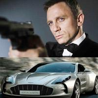 James Bond và BST hàng khủng bạc tỷ