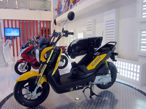 Honda Zoomer X phong cách mới - 2