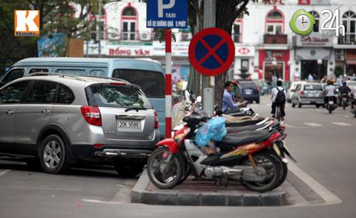 Hà Nội lại nở rộ bãi giữ xe tự phát - 8