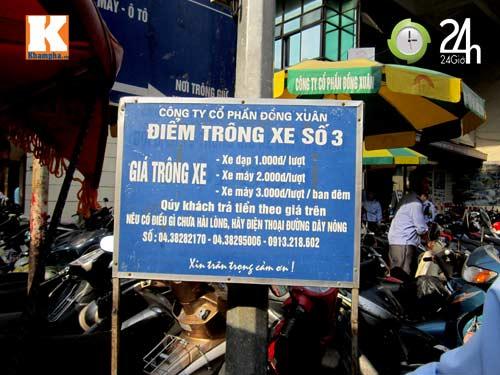 Hà Nội lại nở rộ bãi giữ xe tự phát - 10