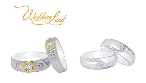 Chen chân mua nhẫn cưới DOJI - 9