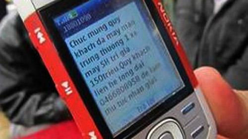 Gửi tin nhắn lừa trúng thưởng sẽ bị phạt tù - 1