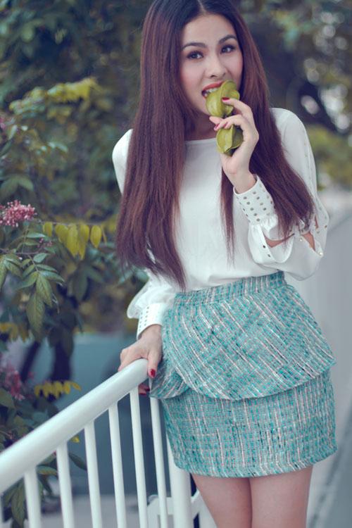 """Vân Trang xinh tươi sau """"Scandal"""" - 11"""