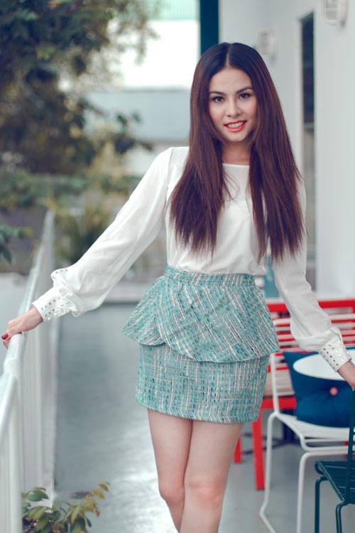 """Vân Trang xinh tươi sau """"Scandal"""" - 4"""