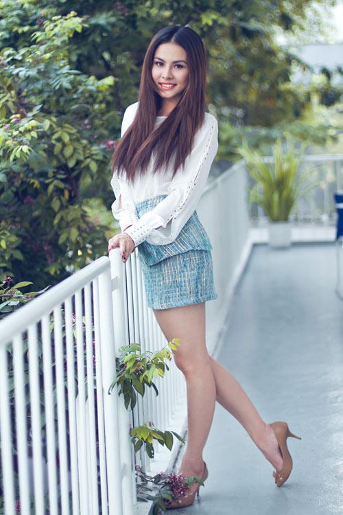 """Vân Trang xinh tươi sau """"Scandal"""" - 6"""