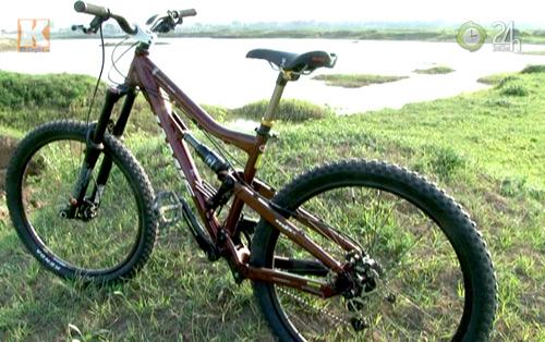 """Thú chơi xe đạp """"khủng"""" giá ngàn USD - 1"""
