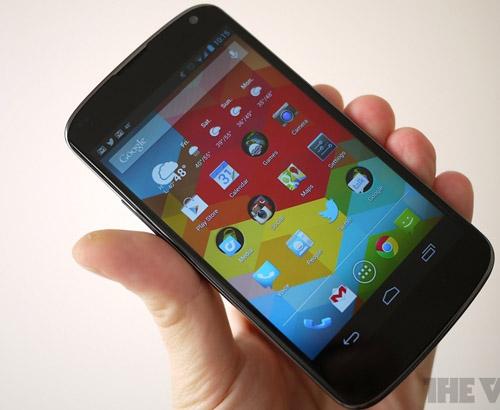 Đánh giá LG Google Nexus 4 - 2