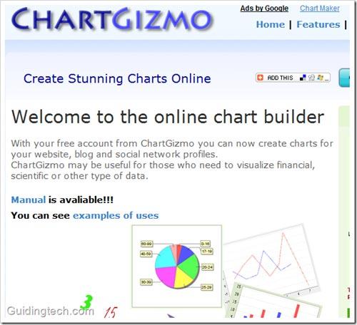 5 công cụ vẽ biểu đồ trực tuyến miễn phí - 1